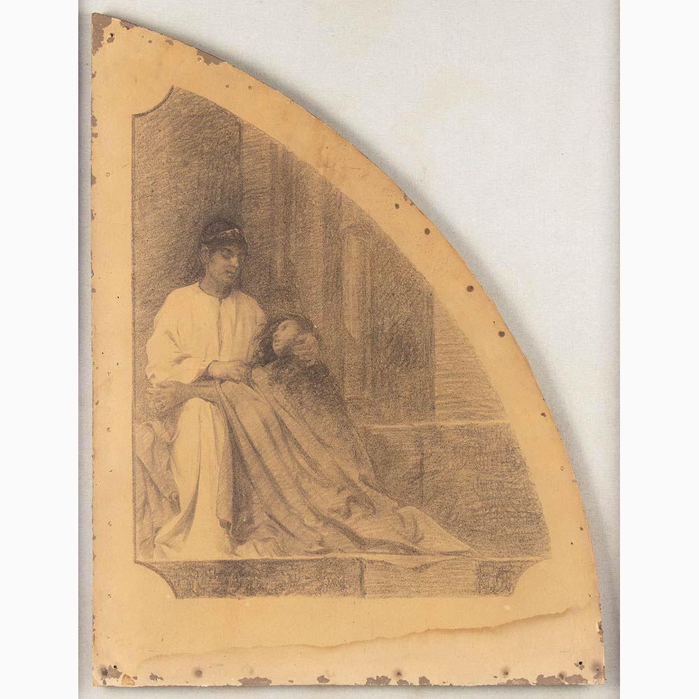 PIETRO VANNI Viterbo, 1845 - Rome, 1905-Six sacred scenes - Image 4 of 7