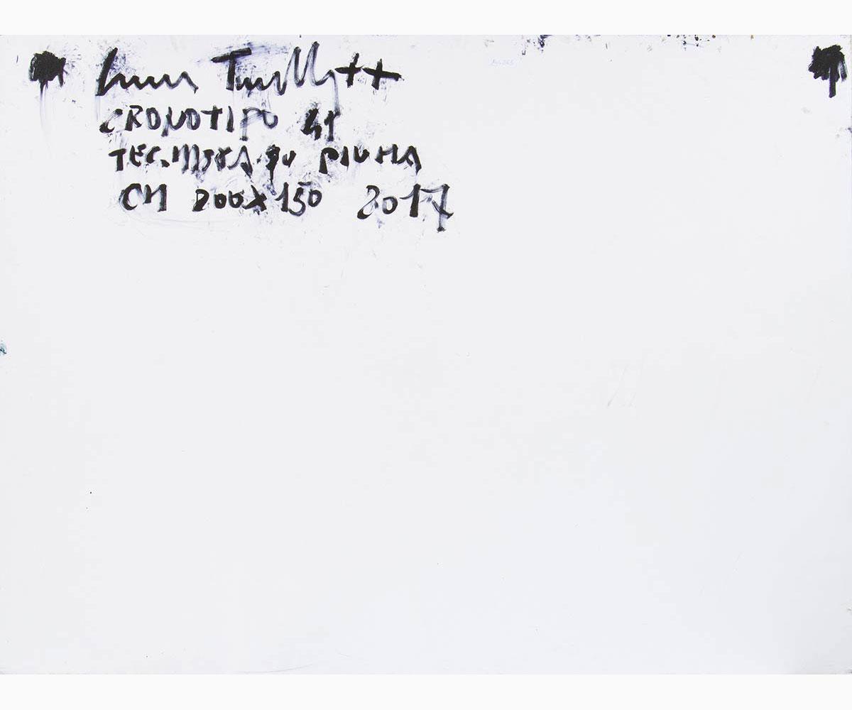CROCE TARAVELLA Polizzi Generosa, 1964-Chronotype 41, 2017 - Image 2 of 2