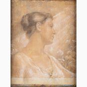 ALESSANDRO BATTAGLIA Roma, 1870 - 1940-To Marta, 1898