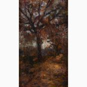 ANTONIO SALVETTI Colle di Val d'Elsa, 1854 - 1931-Tree, 1912