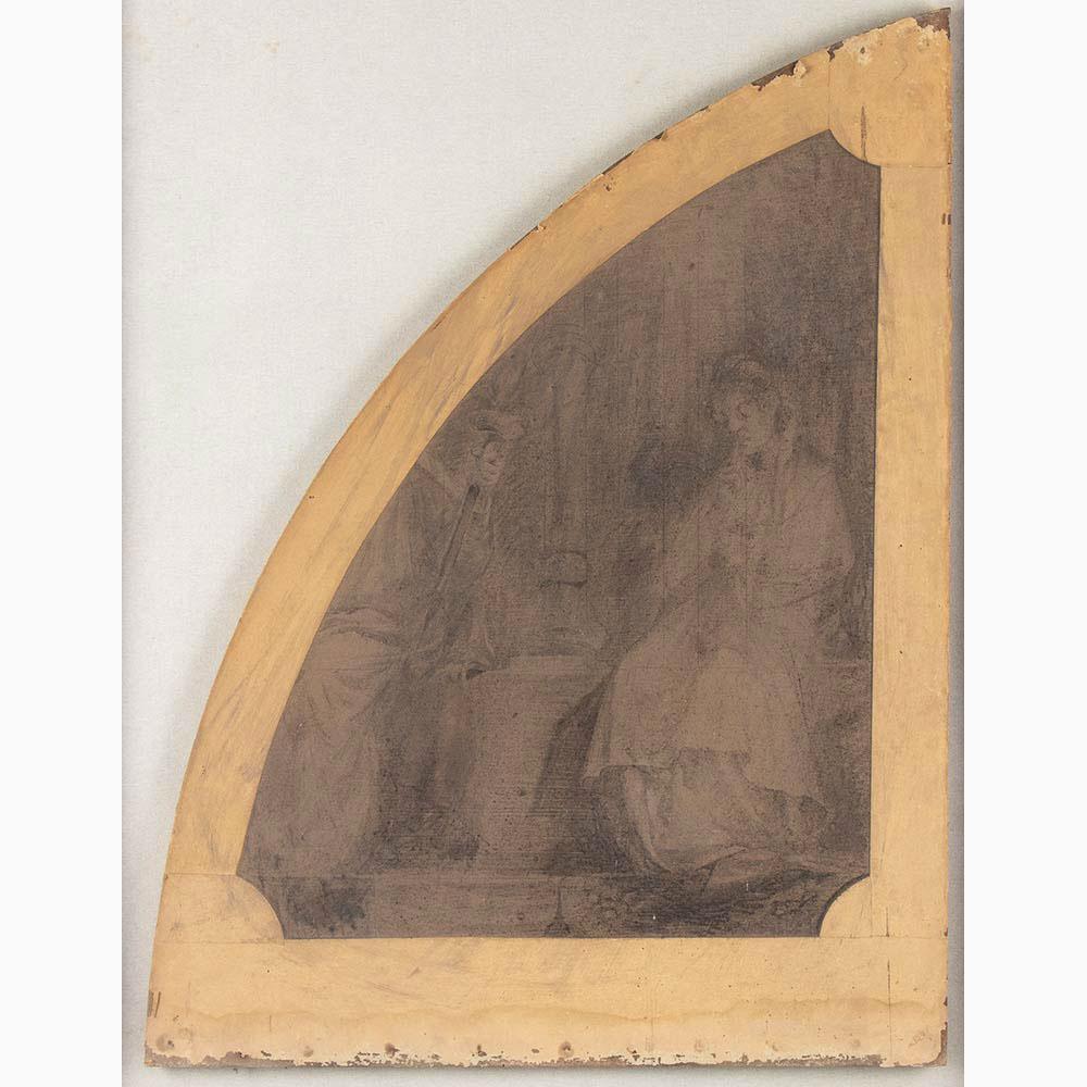 PIETRO VANNI Viterbo, 1845 - Rome, 1905-Six sacred scenes - Image 3 of 7