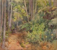 ONORATO CARLANDI Rome, 1848 - 1939-Undergrowth