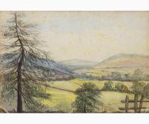 FILIPPO ANIVITTI Rome, 1876 - 1955-Summer mountain landscape