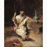 ANTONIO RIVAS Spain, 1845 - 1911-African Warrior