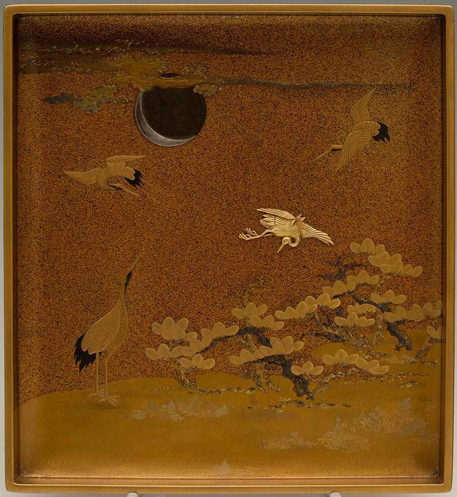 A LACQUERED AND GILT WOOD WRITING SET, SUZURIBAKOJapan, 19th century - Image 9 of 10