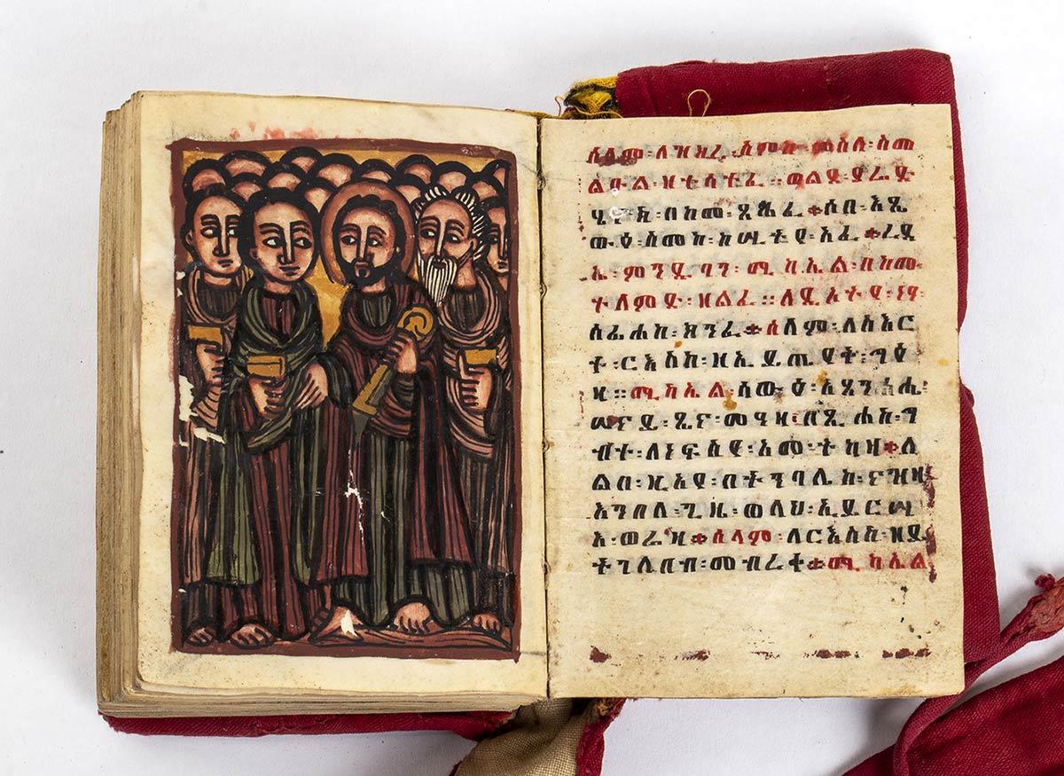 A COPTIC CHRISTIAN GE'EZ MANUSCRIPT Ethiopia, 19th century