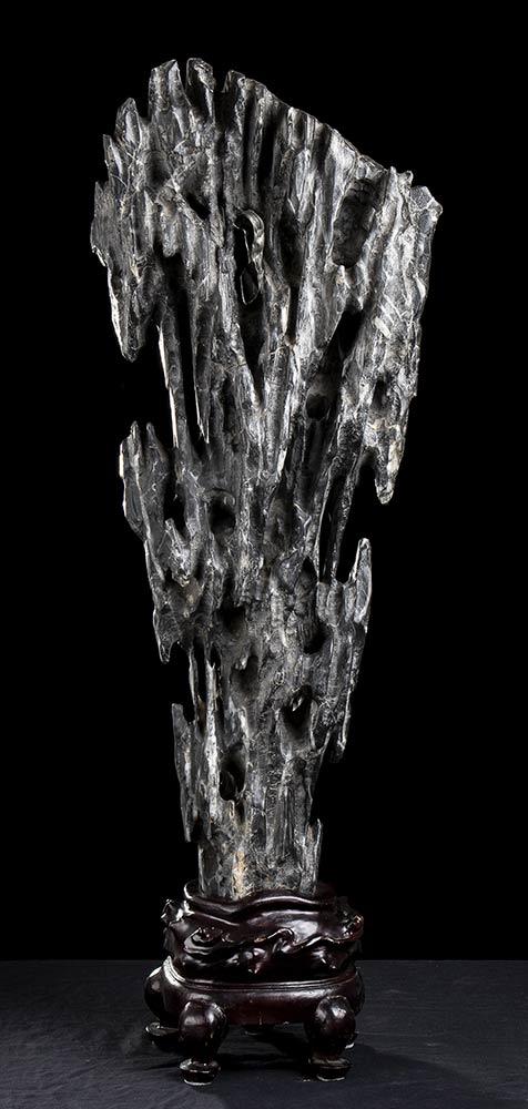 A SCHOLAR ROCK, GONGSHIChina - Image 3 of 5