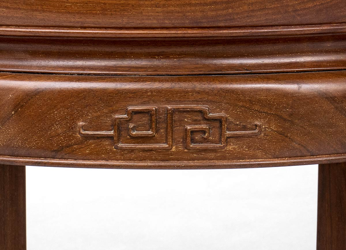A PAIR OF WOOD LOW TABLESChina, 20th century - Image 3 of 3
