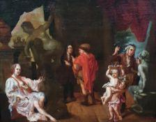 BALTHASAR VAN DEN BOSSCHE (1681-1715), attribué