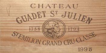 CHÂTEAU GUADET St-JULIEN 1995