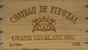 CHÂTEAU DE FIEUZAL BLANC SEC 1988