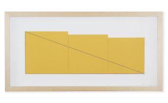 ROBERT MANGOLD (B.1937) Multiple Panel Paintings 1973-1976 The complete portfolio of nine