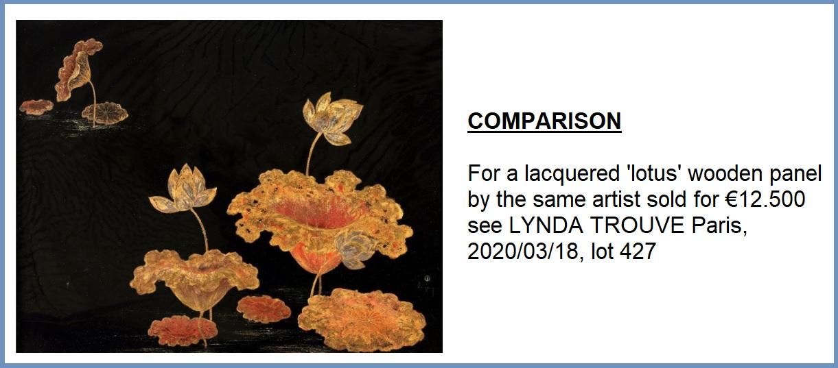 TRAN PHUC DUYEN (1923-1993) ECOLE DES BEAUX-ARTS DE L'INDOCHINE (INDOCHINA FINE ARTS COLLEGE), - Image 9 of 12