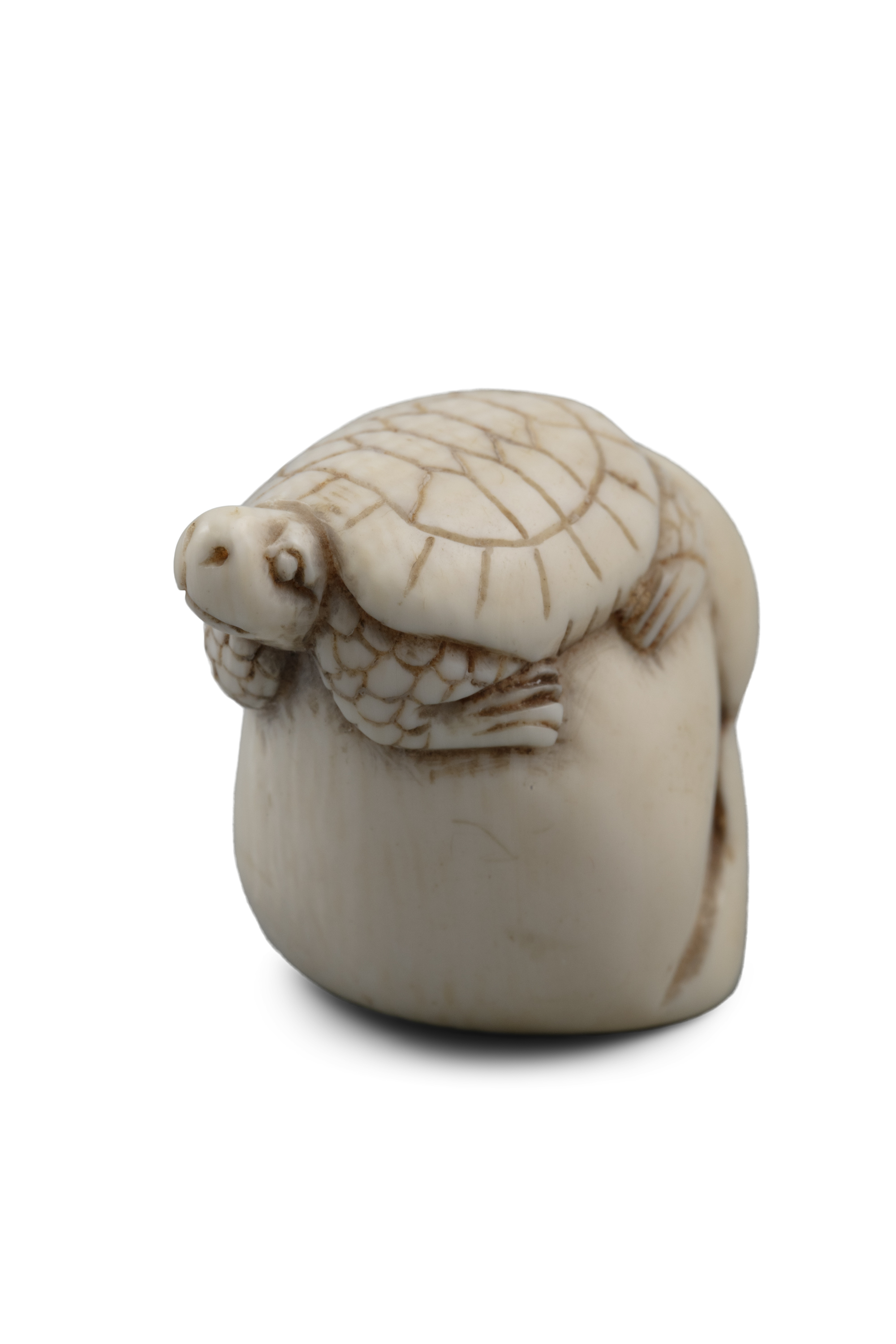 *VANITY - A GROUP OF TWO (2) 'SKULL' KATABORI NETSUKE Japan, 19th century The first one carved out - Image 9 of 18