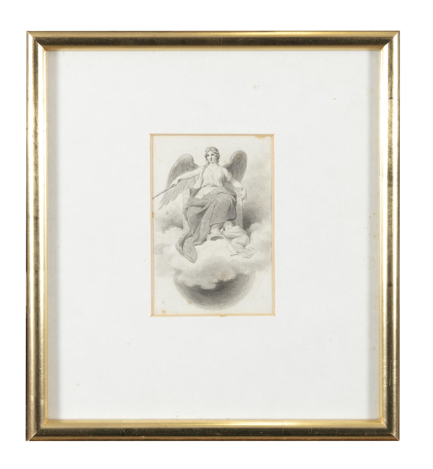 ATTRIBUTED TO WILLIAM HAMILTON RA (1751-1801) Biblical and Allegorical Figural Scenes A - Image 11 of 12