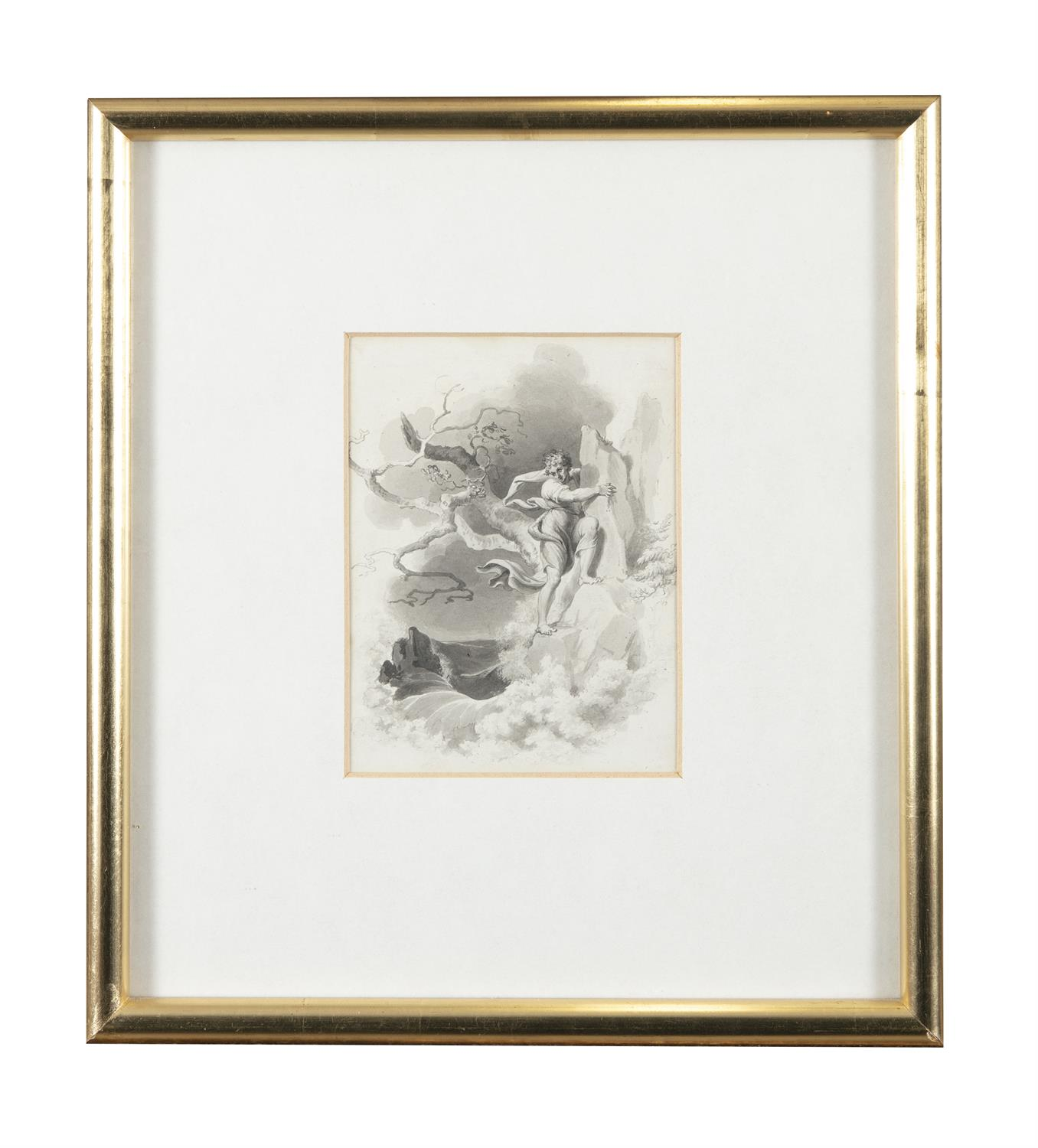 ATTRIBUTED TO WILLIAM HAMILTON RA (1751-1801) Biblical and Allegorical Figural Scenes A - Image 3 of 12