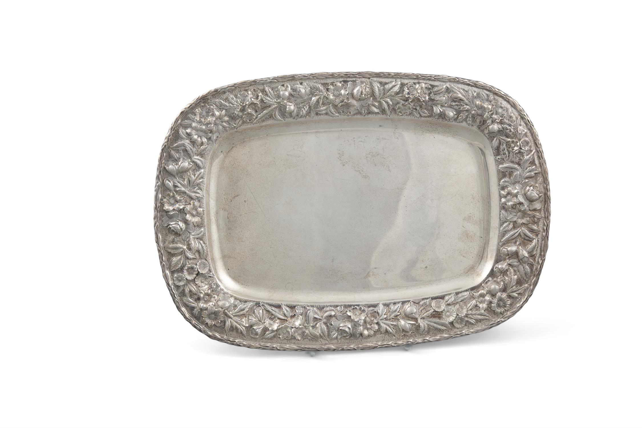 A PAIR OF VICTORIAN SILVER SWEETMEAT BASKETS, London c. 1894, maker's mark of Holland, - Image 2 of 5