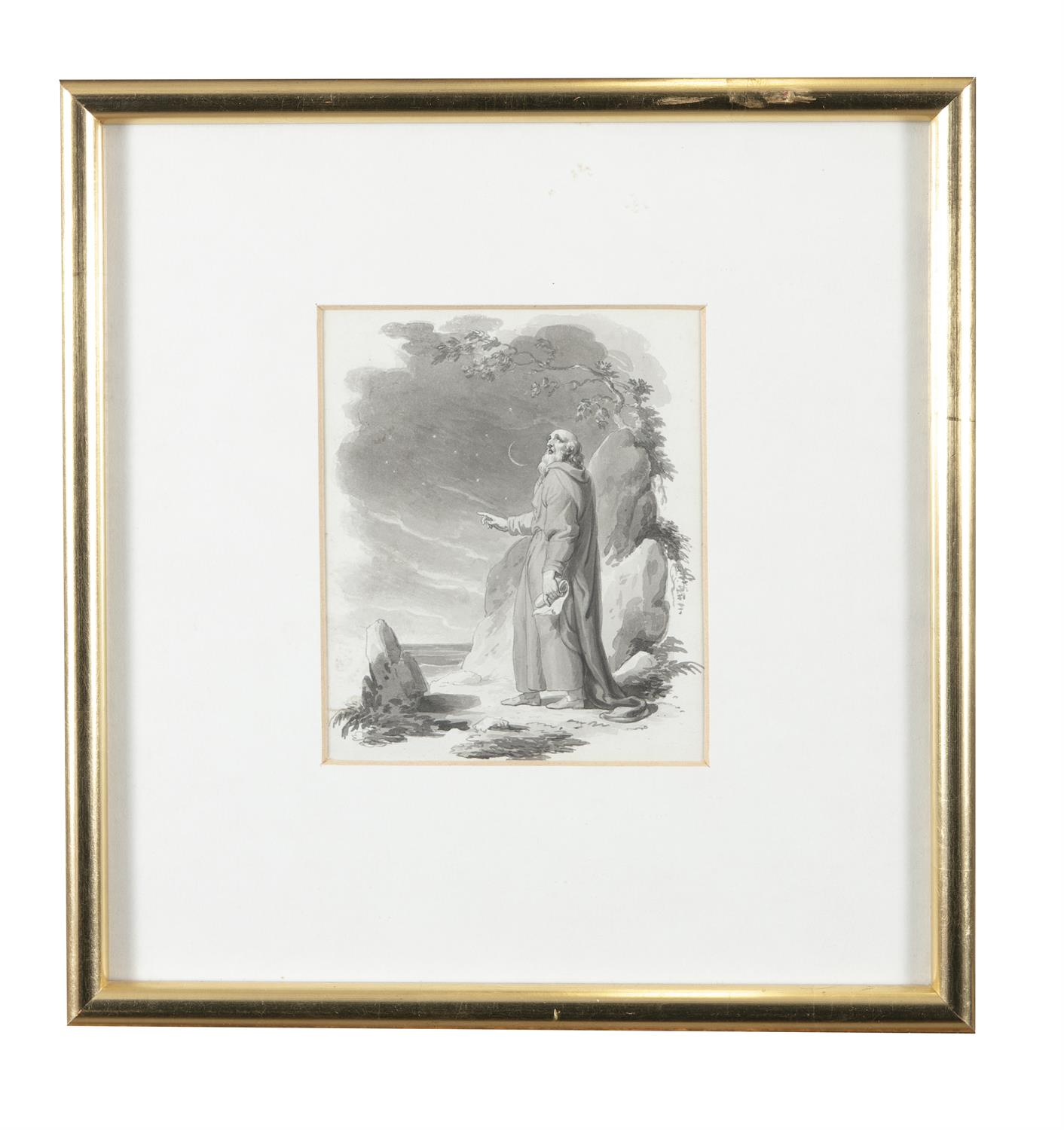 ATTRIBUTED TO WILLIAM HAMILTON RA (1751-1801) Biblical and Allegorical Figural Scenes A - Image 5 of 12