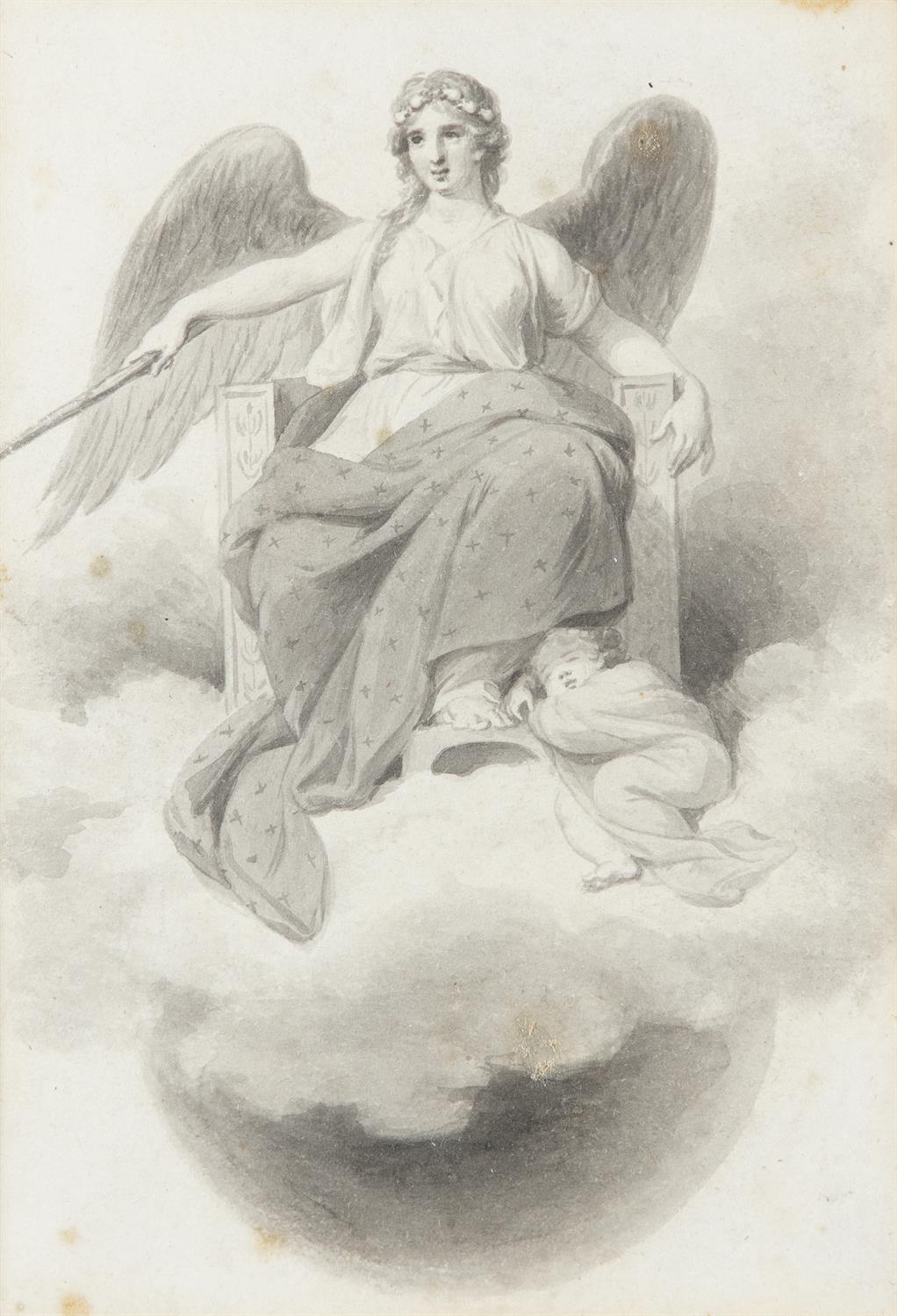 ATTRIBUTED TO WILLIAM HAMILTON RA (1751-1801) Biblical and Allegorical Figural Scenes A - Image 12 of 12