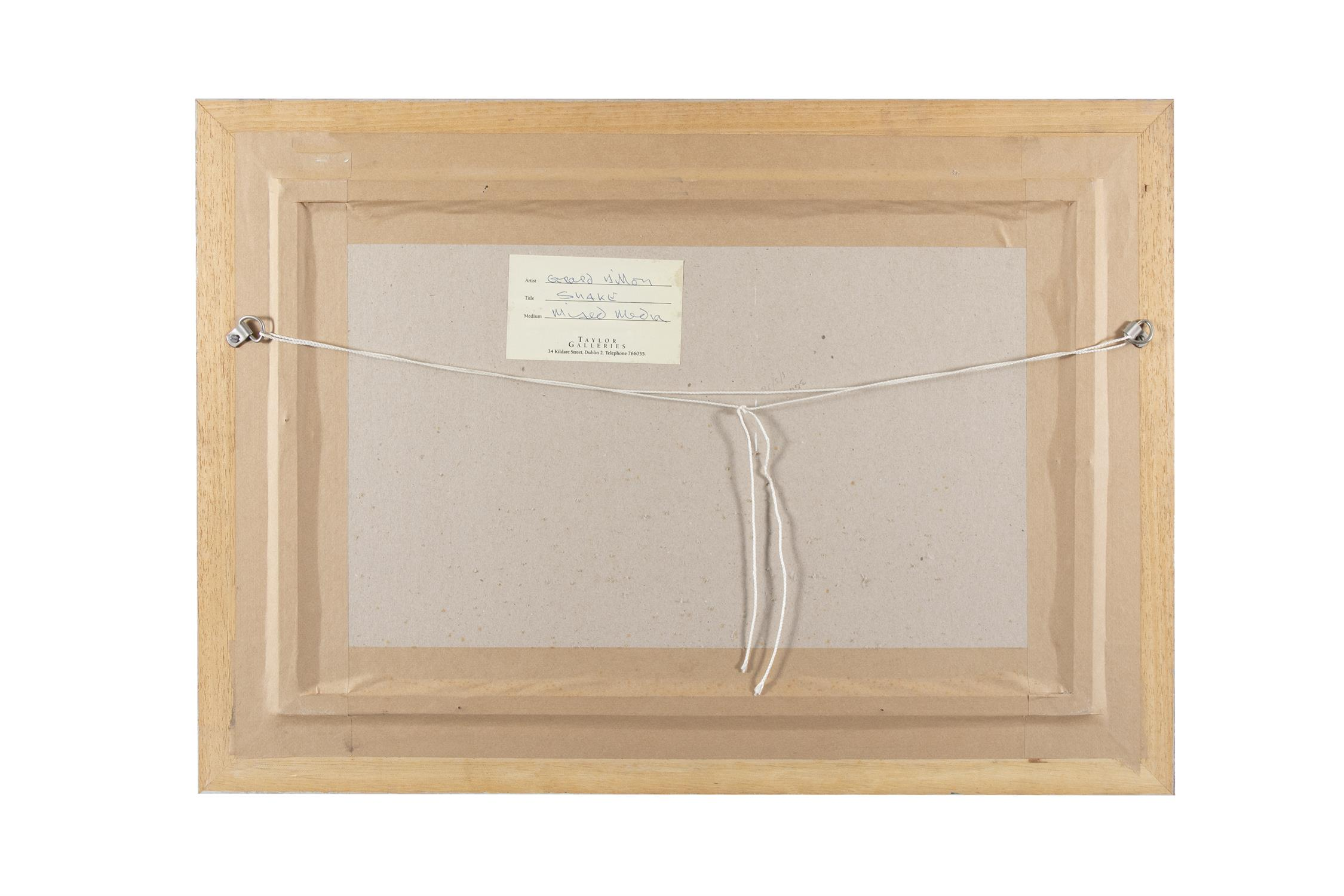 """Gerard Dillon (1916-1971) Snake Mixed media, 29 x 46cm (11½ x 18"""") Signed Provenance: With - Image 4 of 5"""