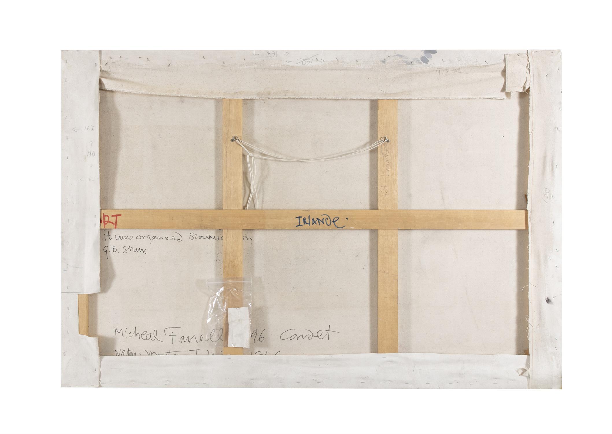 Michael Farrell (1940-2000) Nature Morte Irlande 1846 Oil on canvas, 114 x 167cm (44¾ x - Image 2 of 4