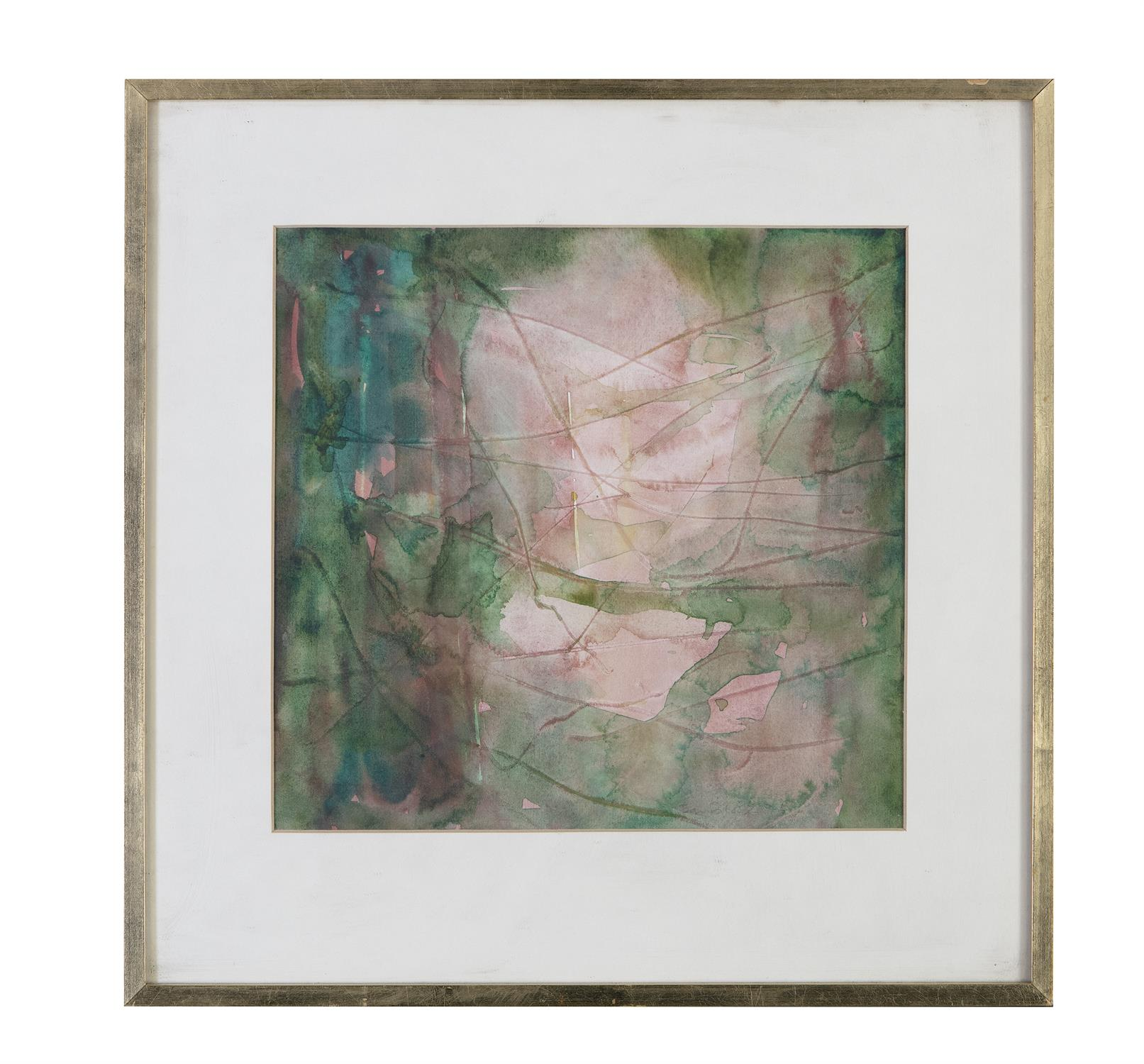 Barrie Cooke HRHA (1931-2014) Light in the Jungle 5 Watercolour, 26.5 x 26.5cm (10½ x