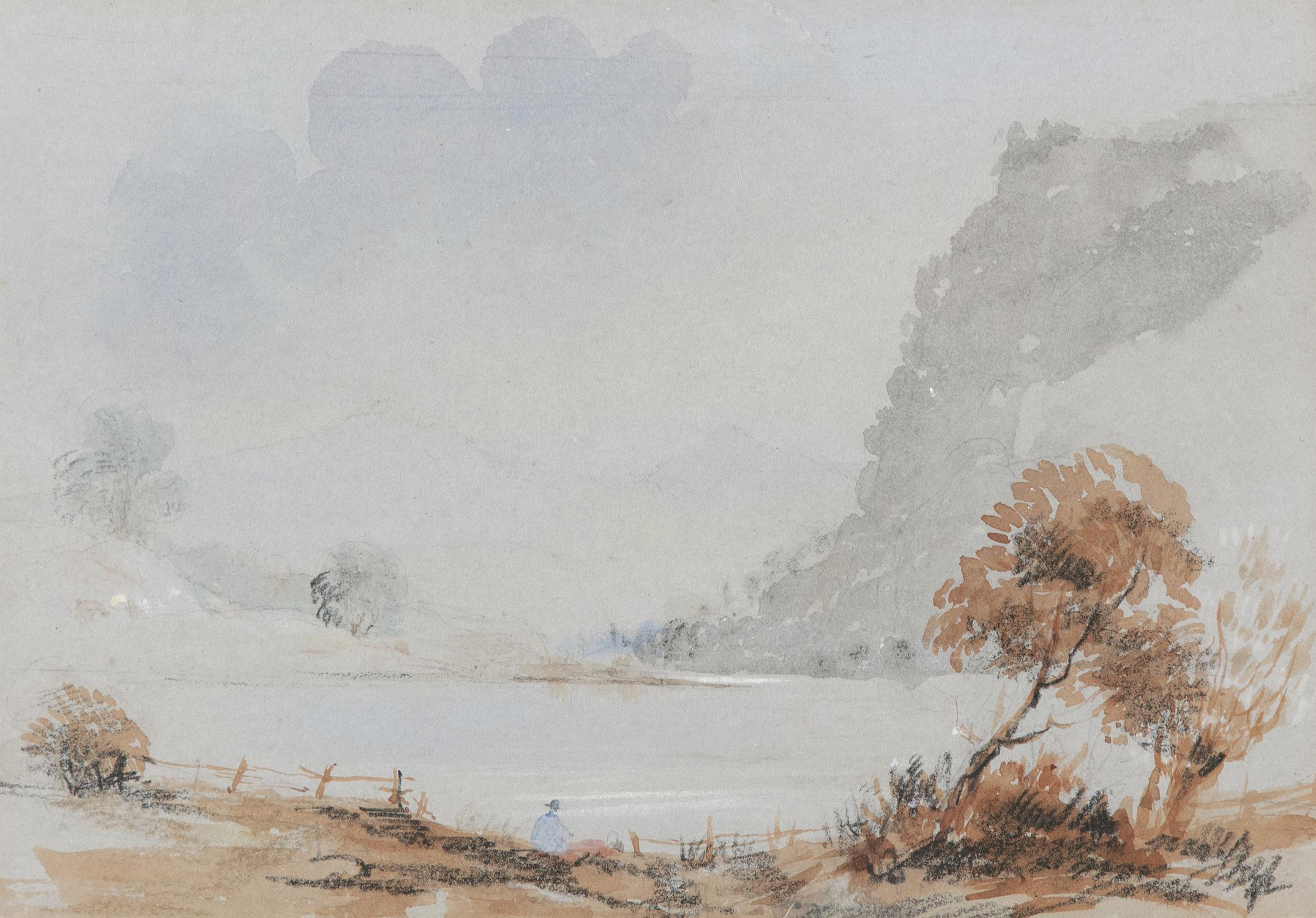 Frederick Marquis of Londonderry 'View Near Achnacarry' and 'View Near Ragatz' Three watercolours,