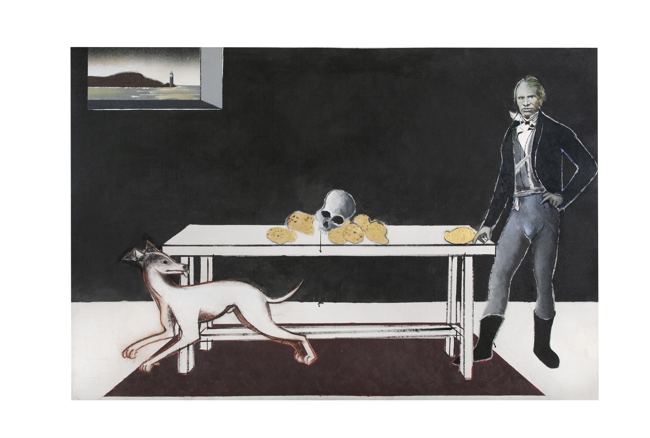 Michael Farrell (1940-2000) Nature Morte Irlande 1846 Oil on canvas, 114 x 167cm (44¾ x