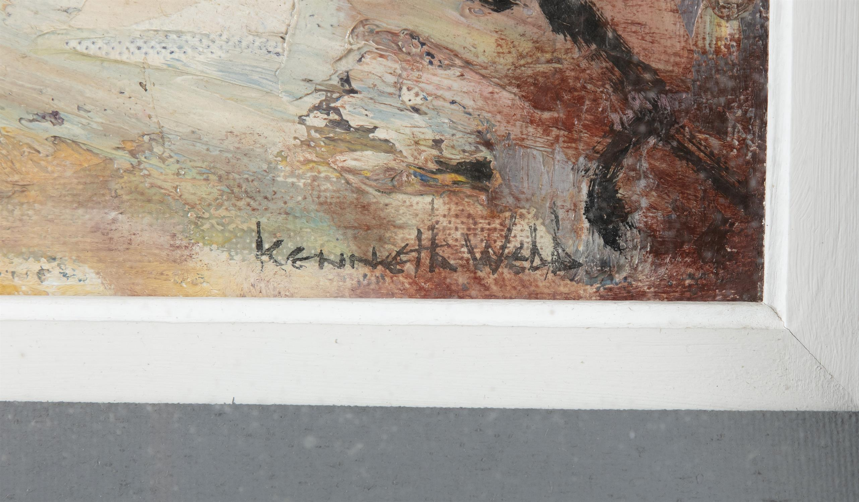Kenneth Webb RWS FRSA RUA (b.1927) Joy's End off Ann Street Oil on canvas, 51 x 41cm (20 x - Image 3 of 5