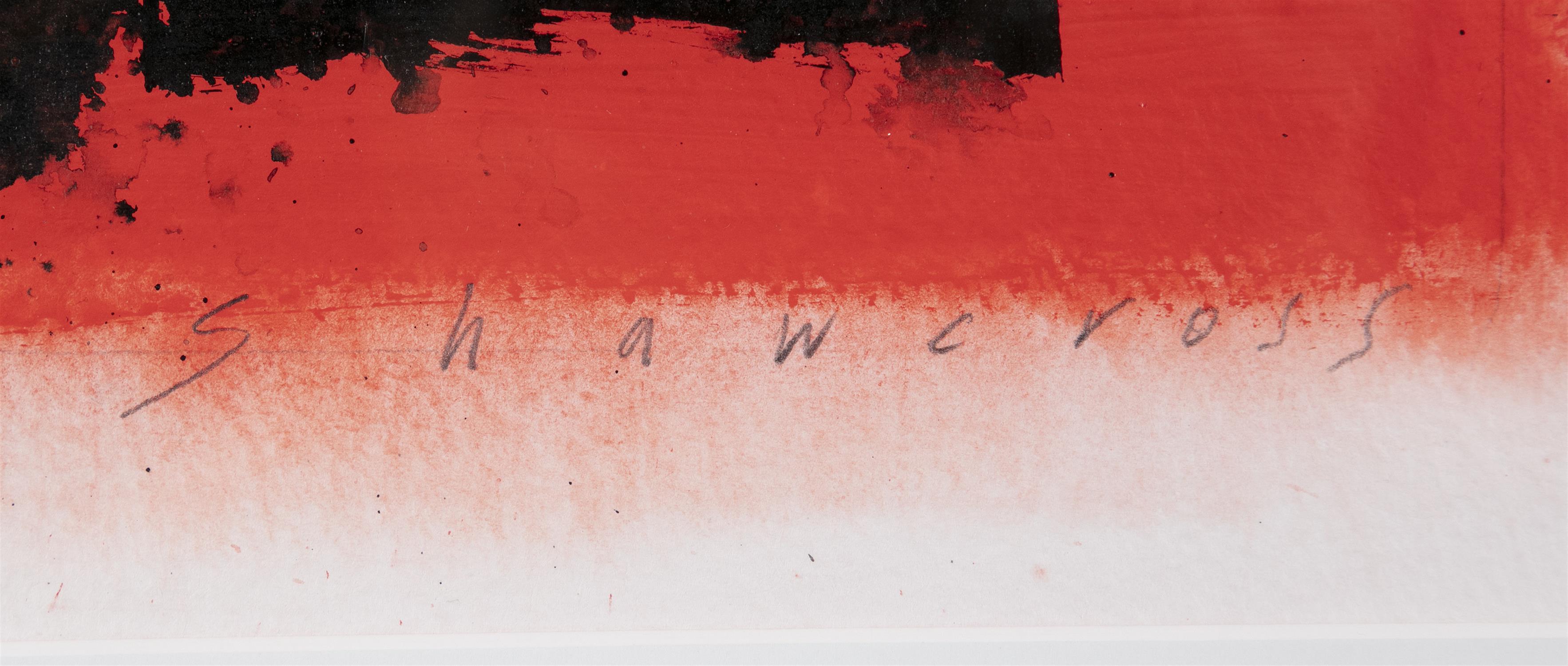 "Neil Shawcross RHA RUA (b.1940) Chair Watercolour, 32 x 23cm (12½ x 9"") Signed and dated 2007 - Image 3 of 5"