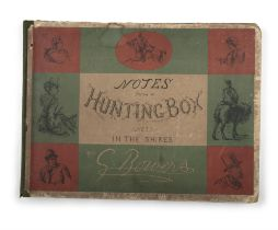 G. BOWERS Notes from a Hunting Box, (not) in the Shires, oblong folio folio, London