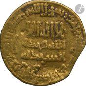 ABBASSIDES Dinar d'or daté 183 H / 799, au nom de Ja'far, gouverneur d'Égypte, Règne de Harûn al-