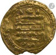 IKHSHIDIDES. Règne d'Al-Mutî' (334-363 H / 946-74) Dinar d'or daté 33( ?)7 H / 948, au nom de al-