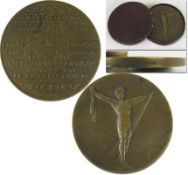 Olympic Games 1924. Participation medal Chamonix - Olympic Games 1924. Participation medal Chamonix