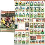 Collector''s Cards album Bergmann Bundesliga 1968 -