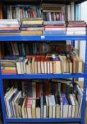 Various books on art, travel, etc.
