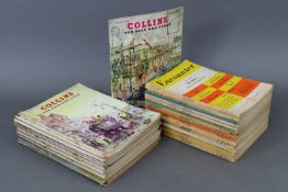 """Twenty volumes of Collin's Magazine for Boys & Girls; & sixteen volumes of the """"Encounter"""" monthly"""