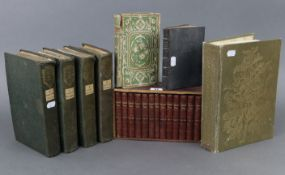 """A set of four 19th century volumes """"A NEW AND COMPREHENSIVE GAZETTEER OF ENGLAND AND WALES"""", by"""