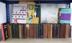 Various books, magazines, & vintage newspapers.