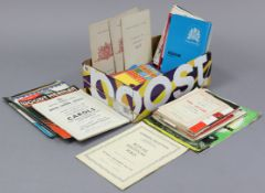 Forty-eight various Theatre Royal Bath programmes; together with approximately sixty various other