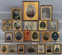 Various family photographs, framed & un-framed.