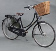 """A PASHLEY """"SOVEREIGN"""" FIVE-SPEED LADIES' BICYCLE (Model No. 14764), with a Brooks leather"""