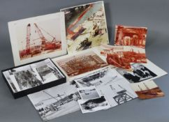 Approximately sixty loose photographs – all relating to Sparrows Cranes.