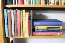 Thirty-six various Folio Society books.