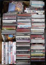 Various assorted CDs & DVDs.