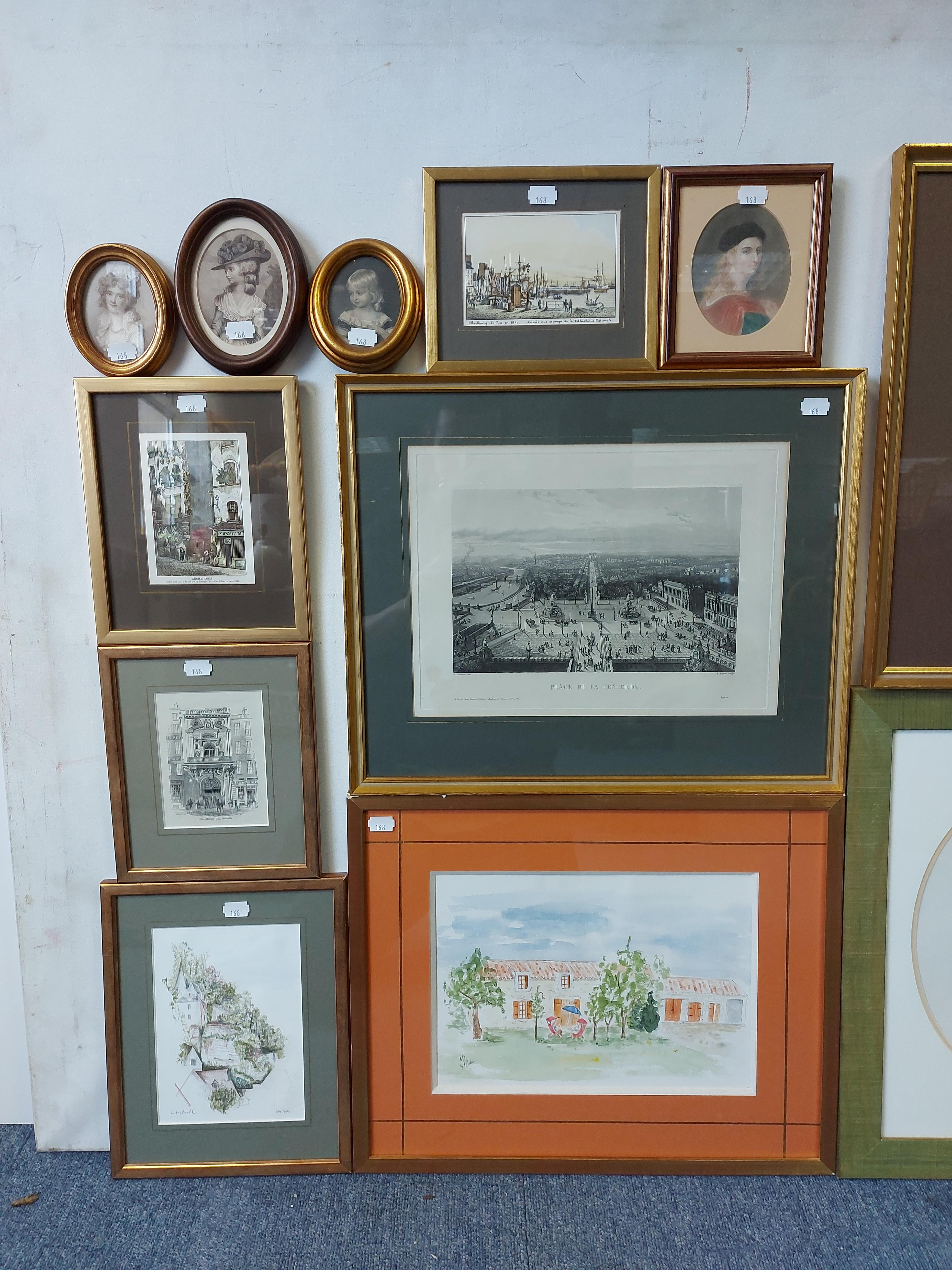 Various decorative paintings & prints. - Image 3 of 7