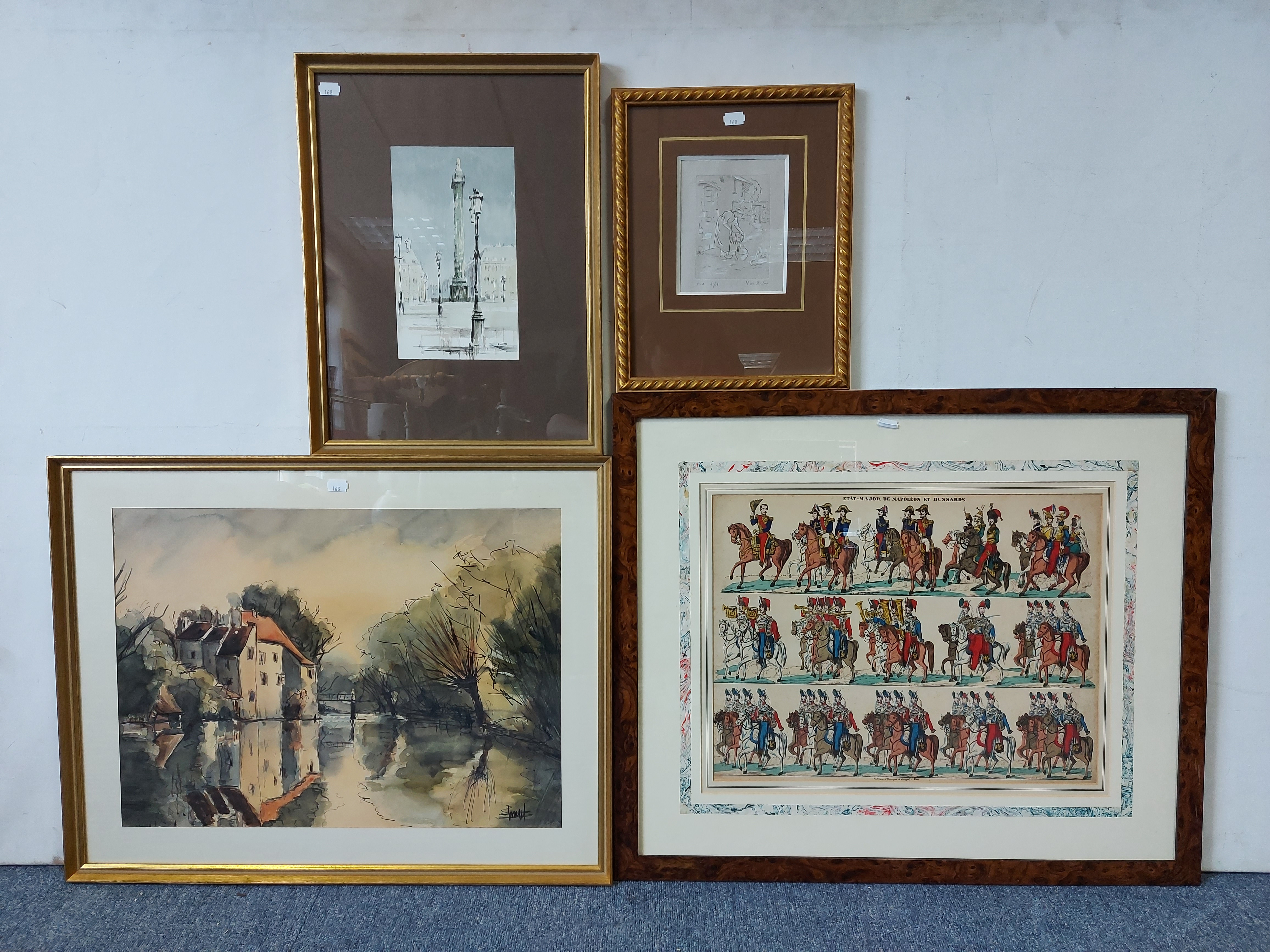 Various decorative paintings & prints. - Image 6 of 7