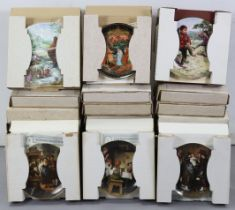 Approximately fifty various collector's plates, all boxed, most with certificates.