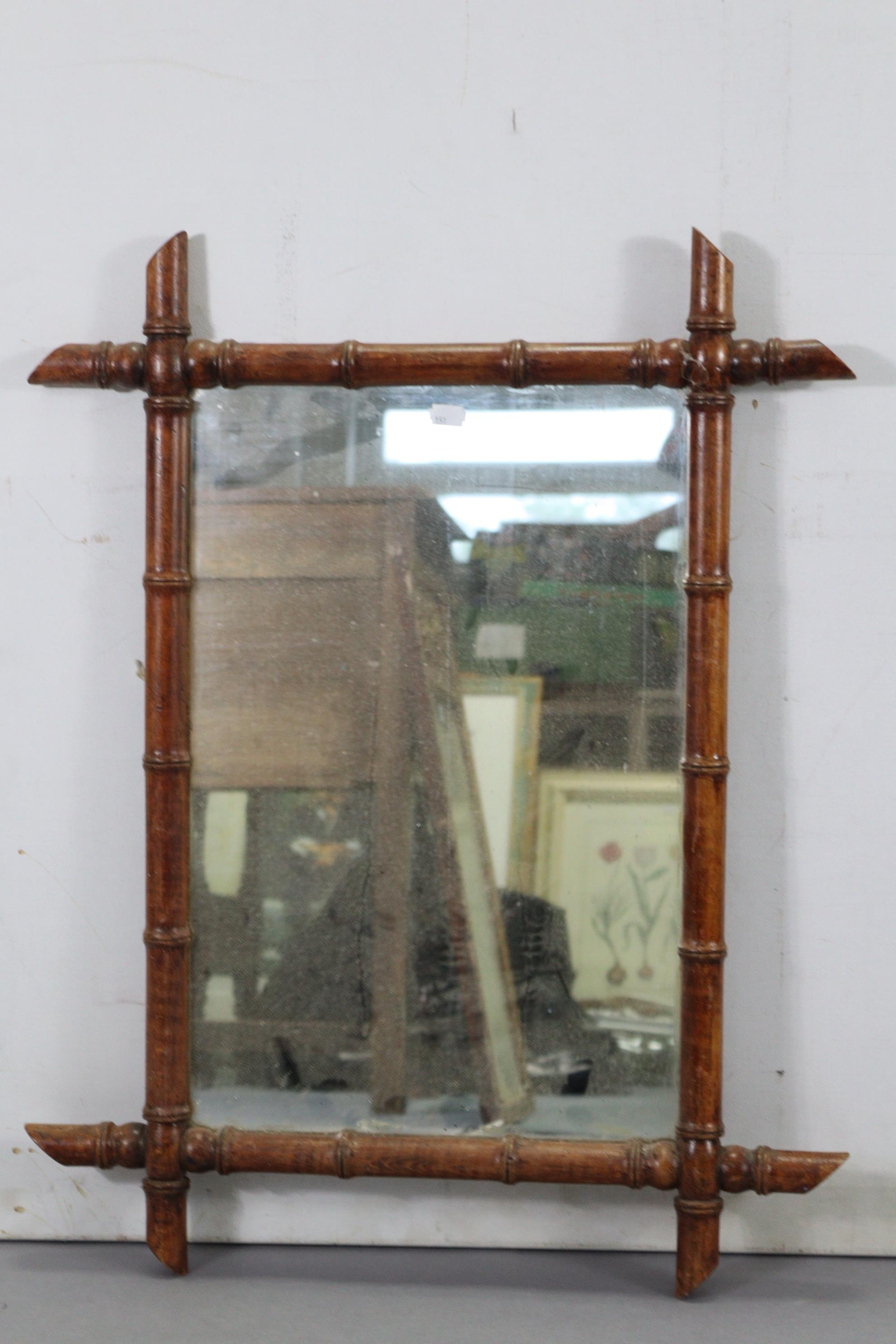 """A continental-style gilt frame pier glass, 31"""" x 16""""; together with two rectangular wall mirrors. - Image 9 of 10"""