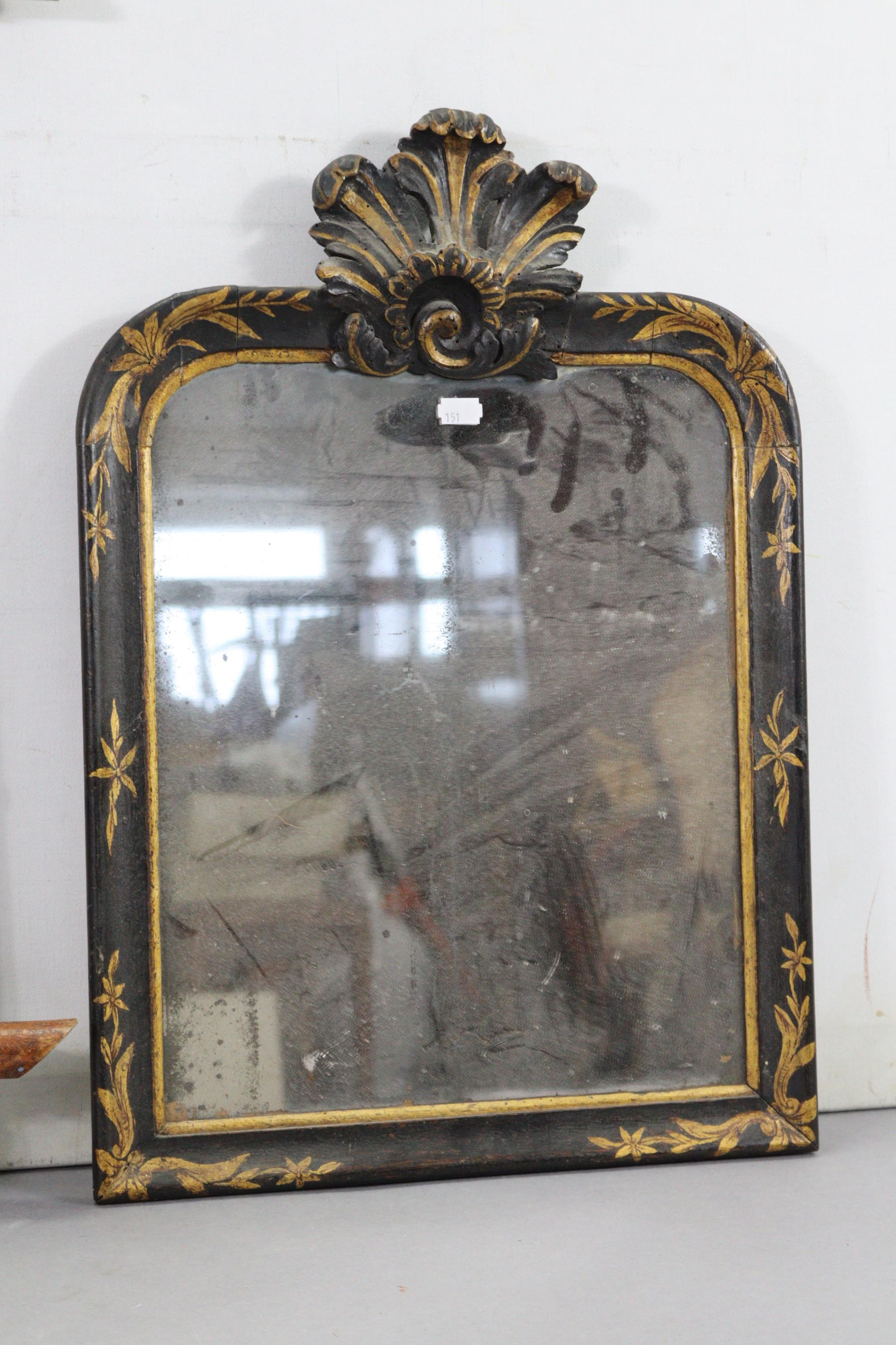 """A continental-style gilt frame pier glass, 31"""" x 16""""; together with two rectangular wall mirrors. - Image 7 of 10"""
